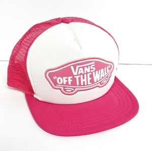Vans Hot Pink Trucker Hat